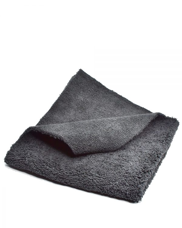 Profesionálna mikrovláknová utierka čierna Racoon Cleaning Products